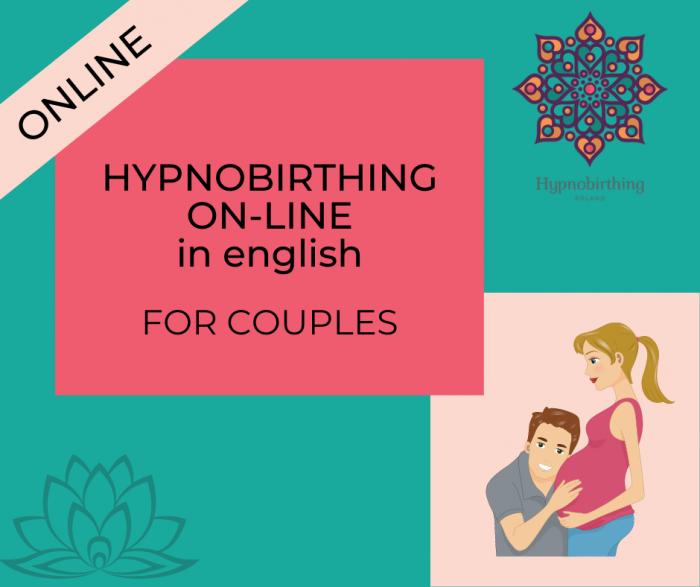 okładka produktu hypnobirthing english